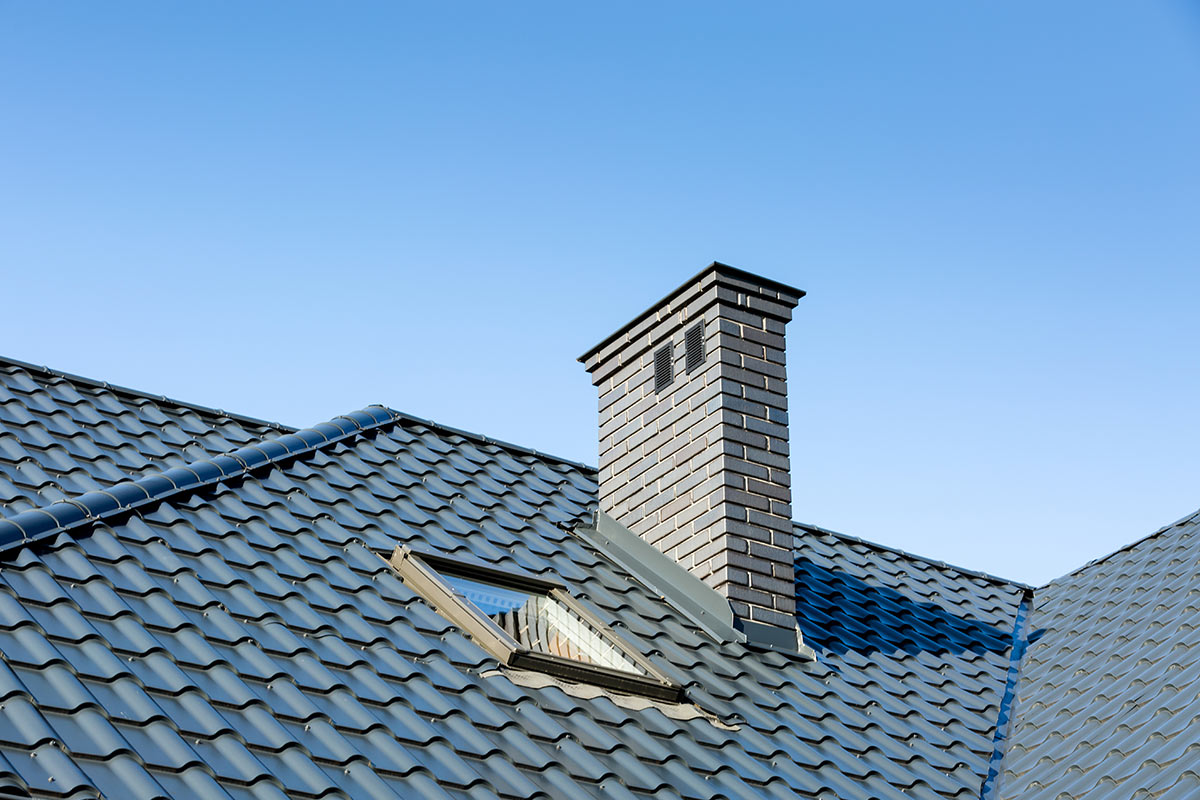 Did you know that you can get standing seam metal roofing & metal shingles that look like wood shake, slate, and clay tile?