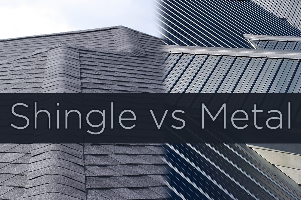 Pros Amp Cons Of Roofing In 2019 Metal Roofing Vs Asphalt