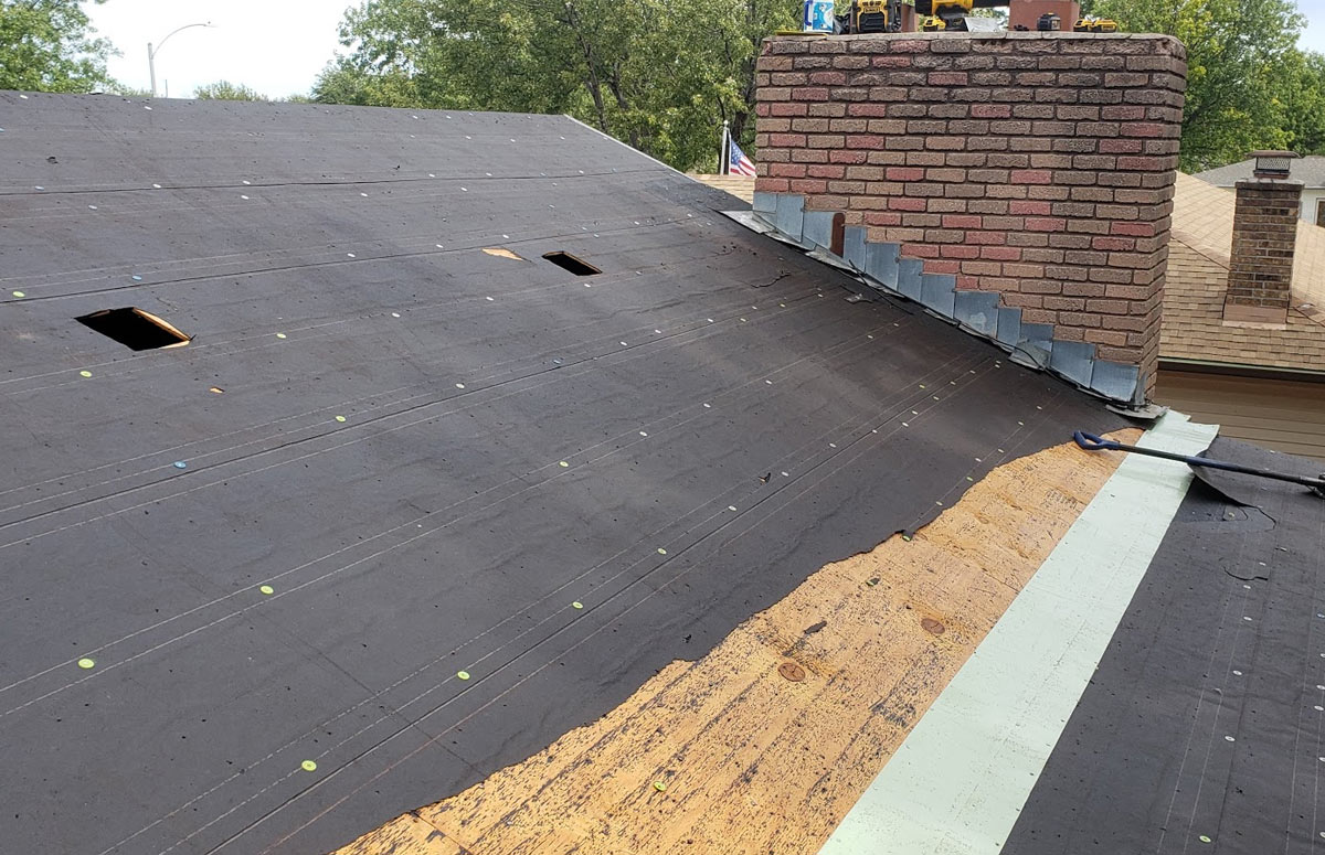 Shingle repair and reroofing services